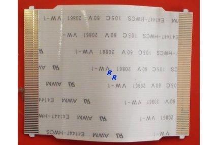 CAVO DC025072900 REV 1.0 (0A) + CN-0D4400-48715-555-00S1 REV A00 PER SHARP PANNELLO LQ154M1LW12 JP-0G4934-40593-56R-158